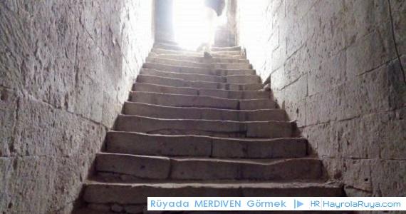 Rüyada Merdivenin Görülmesi