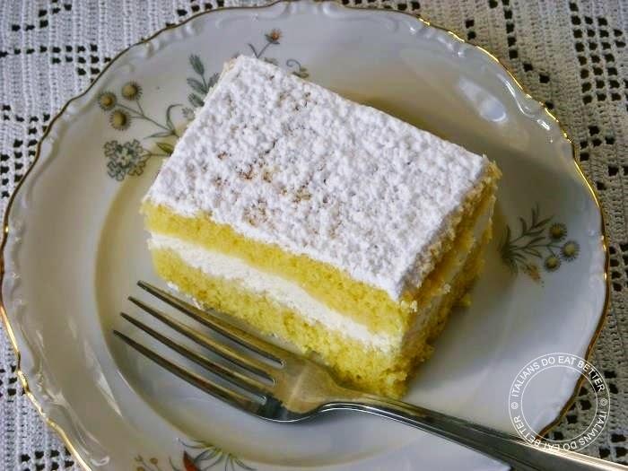 Ricetta crema per torta paradiso bimby