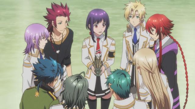 kamigami no asobi episode 10 9 15 Anime Reverse Harem Terbaik