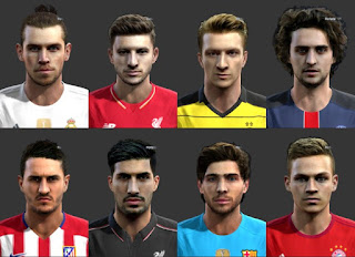 Come back Facepack 2016 Pes 2013 By Bou7a