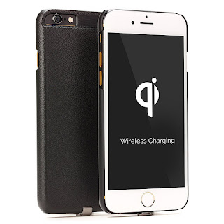 URCOVER Back Case Cover Wireless Qi Custodia Induttiva Apple iPhone 6 6S