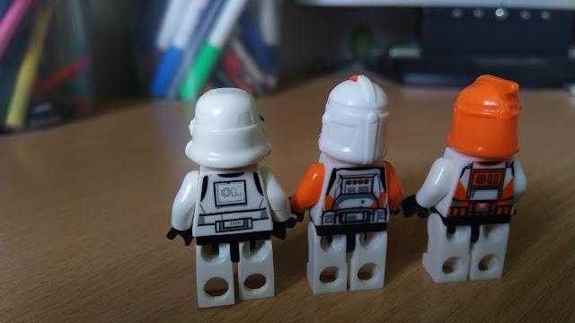 Фигурки штурмовиков и клонов Звездные войны