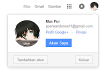 Cara Mengganti Nama Profil Gmail Terbaru 2017