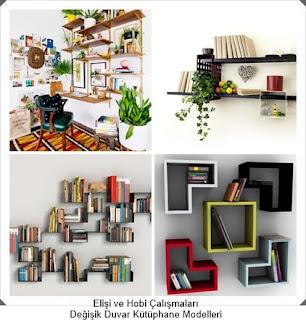 Kütüphane Modelleri  - Dekorasyon