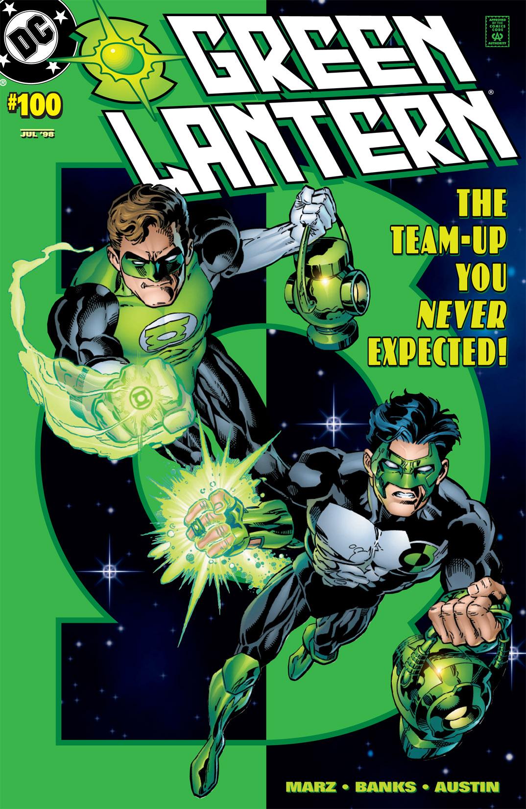 Green Lantern (1990) 100 Page 1