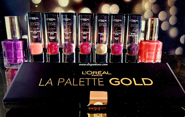 loreal gold obsession swatches India