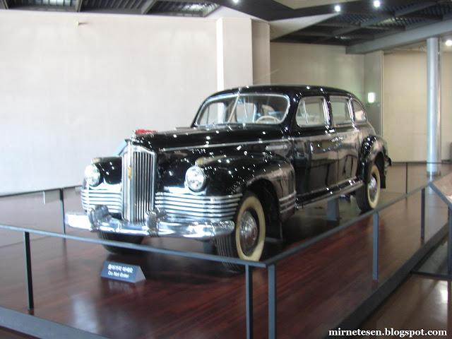 Военный мемориал Республики Корея - автомобиль первого лидера КНДР