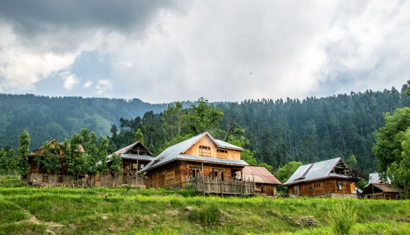 A beautiful house in Lolab Valley