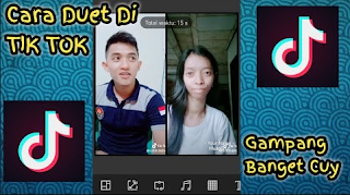 Cara Membuat Video Duet Di Tik Tok - Video Duet Musical.ly