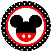 Oblea para tartas Mickey Mouse