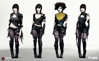 negasonic teenage warhead, concept art