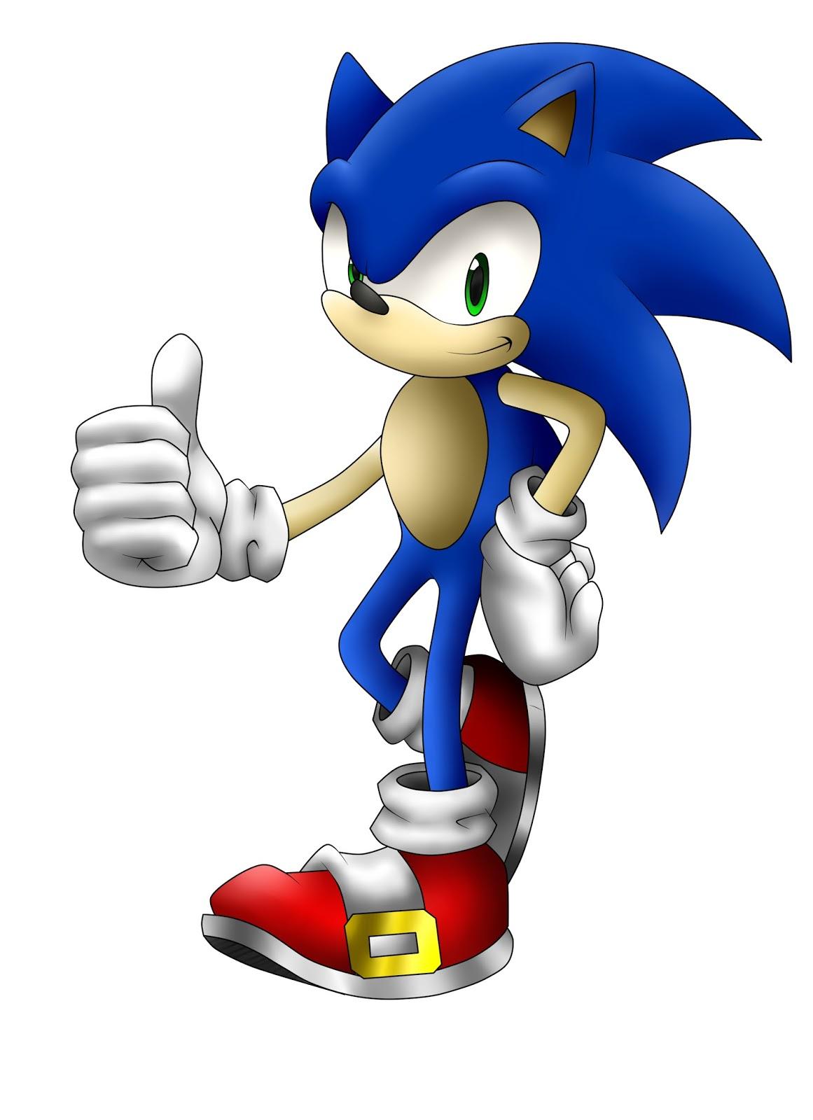 Mi dibujo de Sonic the hedgehog ~ InfoTecnoAmericano