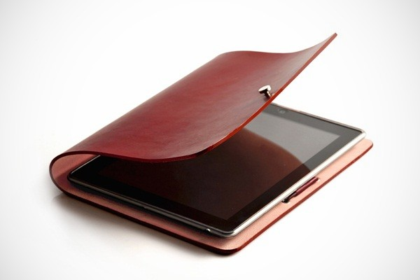 EVOUNI Leather Arc Cover for iPad 2