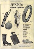рекламный плакат резиновые сапоги North British Rubber Company
