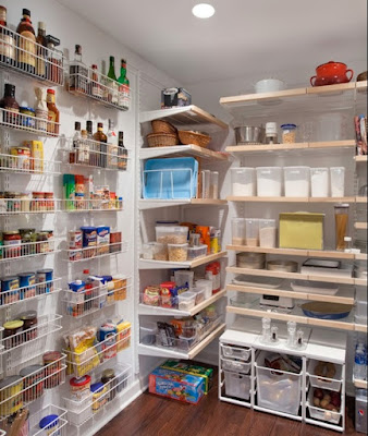 How to setup kitchen storage