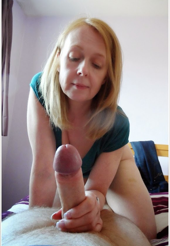 Blonde Sucks Huge Dick 56