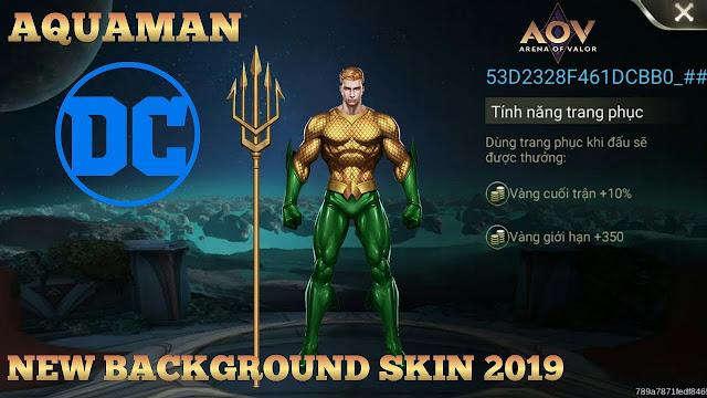 Siap-Siap! Aquaman Akan Hadir Di Arena of Valor