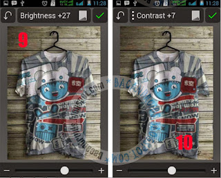 Tutorial Edit Foto Membuat Desain Pada Baju dengan App PicSay Pro