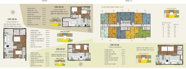 Thiết kế căn hộ Hồng Hà Tower