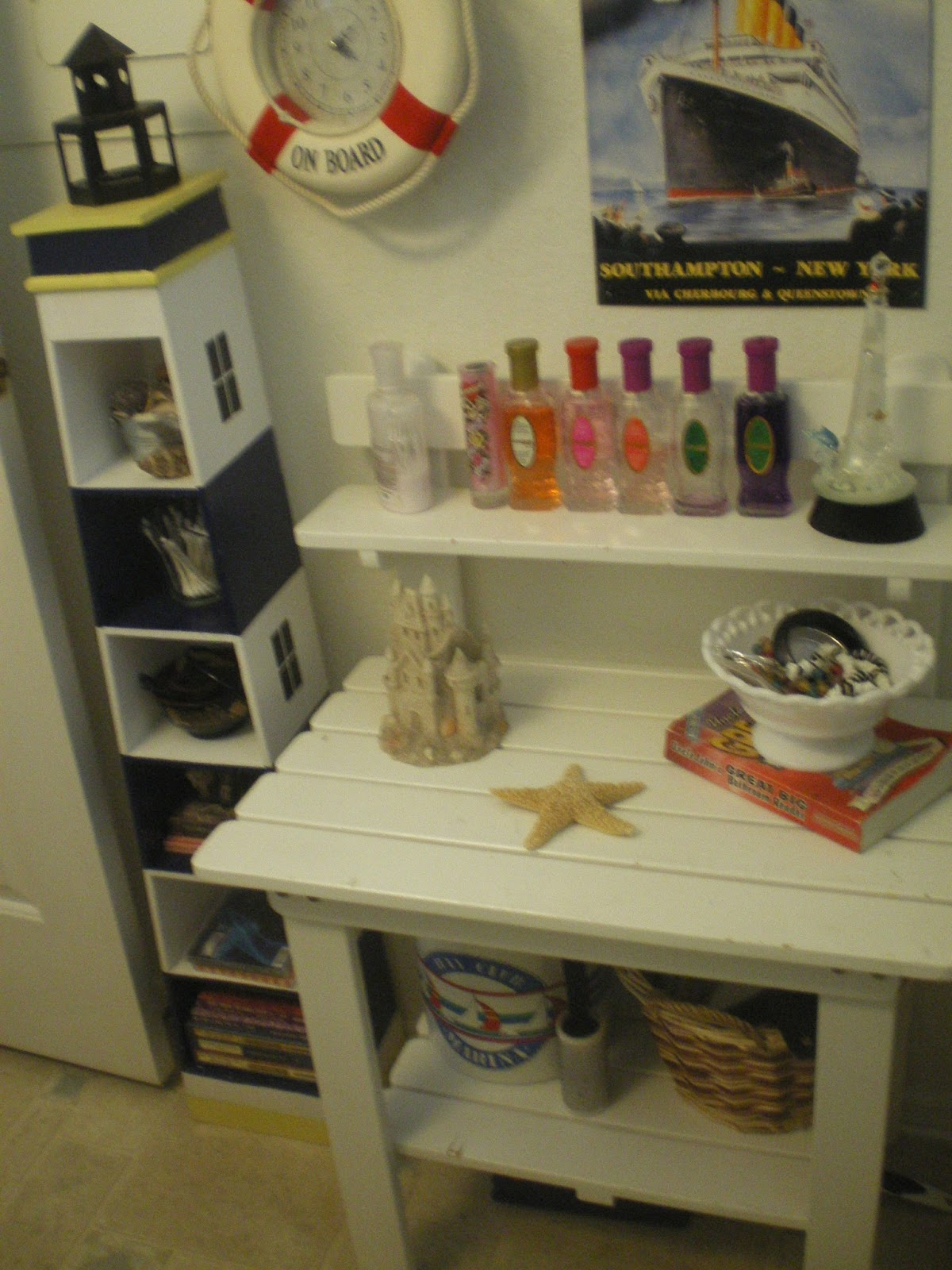 After This Little Bench And Light House Shelf Added Much Needed Storage
