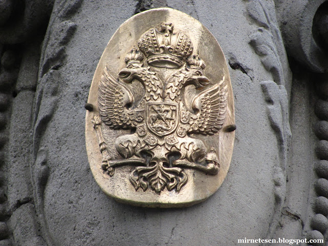 Сербия на практике: двуглавый орёл на улице Кнез Михайлова