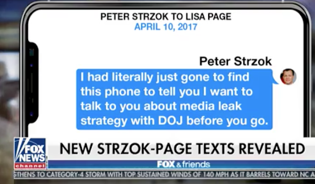 New Strzok-Page texts reveal others were 'leaking like mad' in lead up to Trump-Russia probe