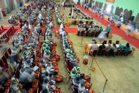 Asrama Haji Pondok Gede Terlihat Lengang