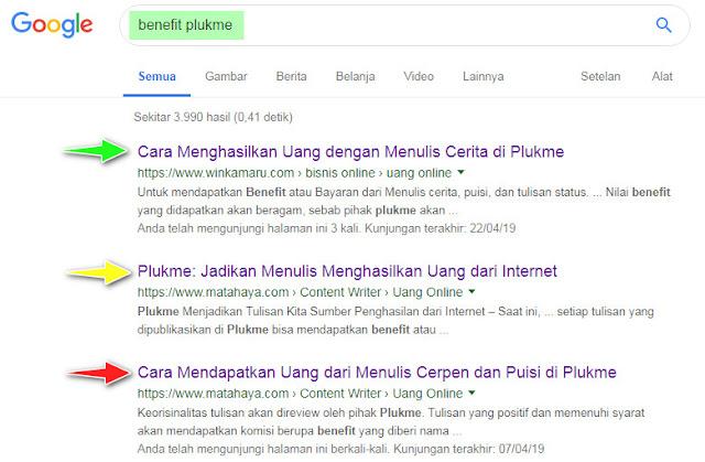 Cara Mengetahui Posisi Rangking Artikel di Google