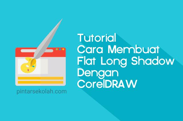 Pada artikel sebelumnya kita sudah pernah membahas perihal software atau kegiatan  Tutorial Cara Membuat Flat Long Shadow Dengan CorelDRAW