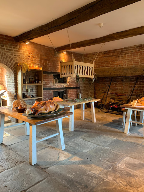 Tudor kitchen at Ordsall Hall, Salford