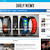 How To Setup Daily News Blogger Template