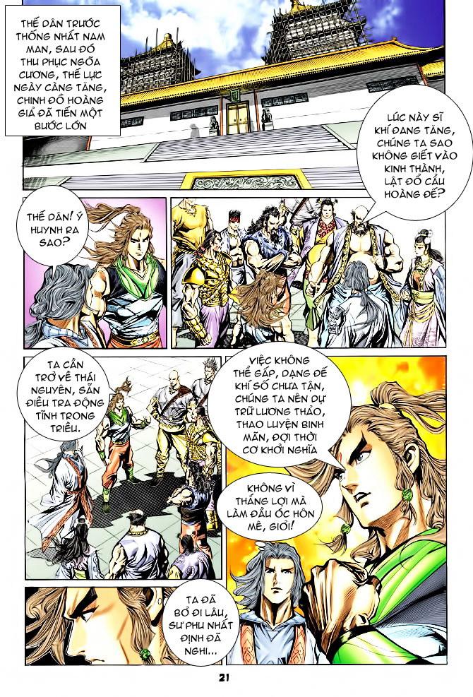 Đại Đường Uy Long chapter 44 trang 21