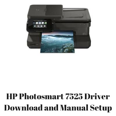 HP Photosmart 7525 Driver Download and Manual Setup