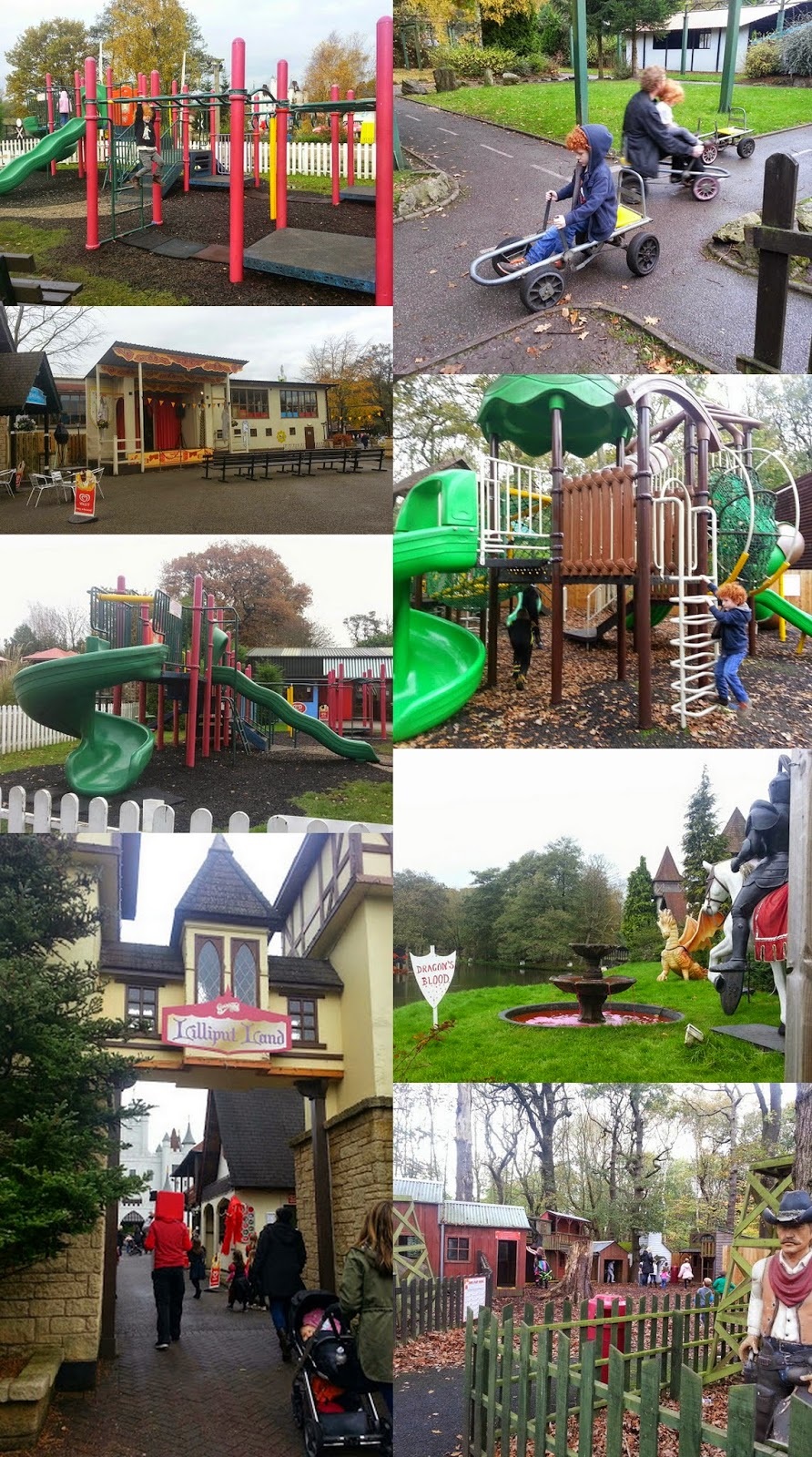 Gulliver's World Children's theme parkLilliput land play areas and amusements