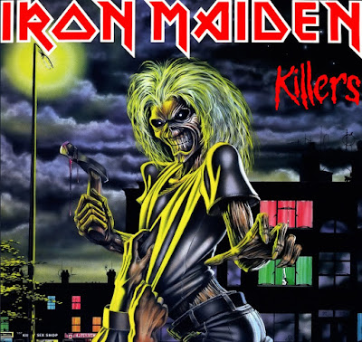 Eξώφυλλο δίσκου για το Killers των Iron Maiden