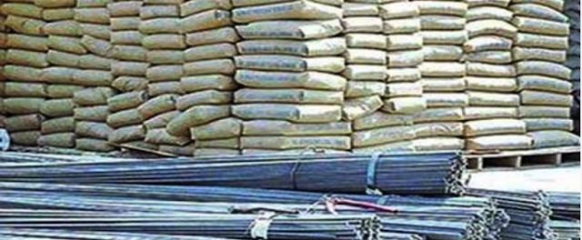 تباين اسعار الحديد والأسمنت اليوم الاثنين 30-5-2016 سعر طن الحديد وشيكارة الأسمنت المحلي والمستورد
