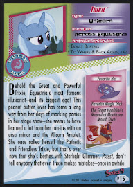 MLP Trixie Series 4 Trading Card