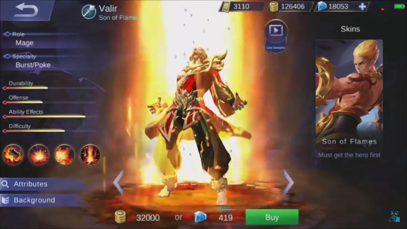 Gambar Hero Mobile Legend Dan Skillnya Gambar Dp Bbm