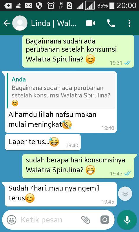 Testimoni Walatra Spirulina