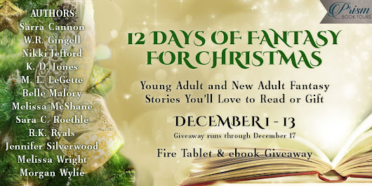 GRAND FINALE 12 Days of #Fantasy for Christmas!! Enter to win a Fire Table #Giveaway