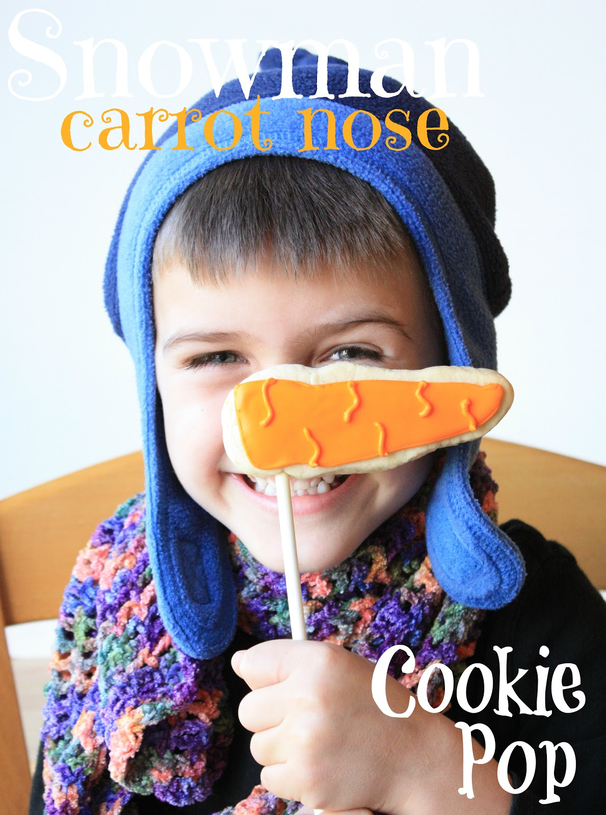 Munchkin Munchies Snowman Carrot Nose Cookie Pop