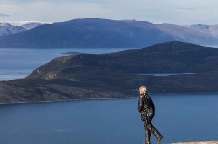 Storfjord Norjanmeri saari Norja