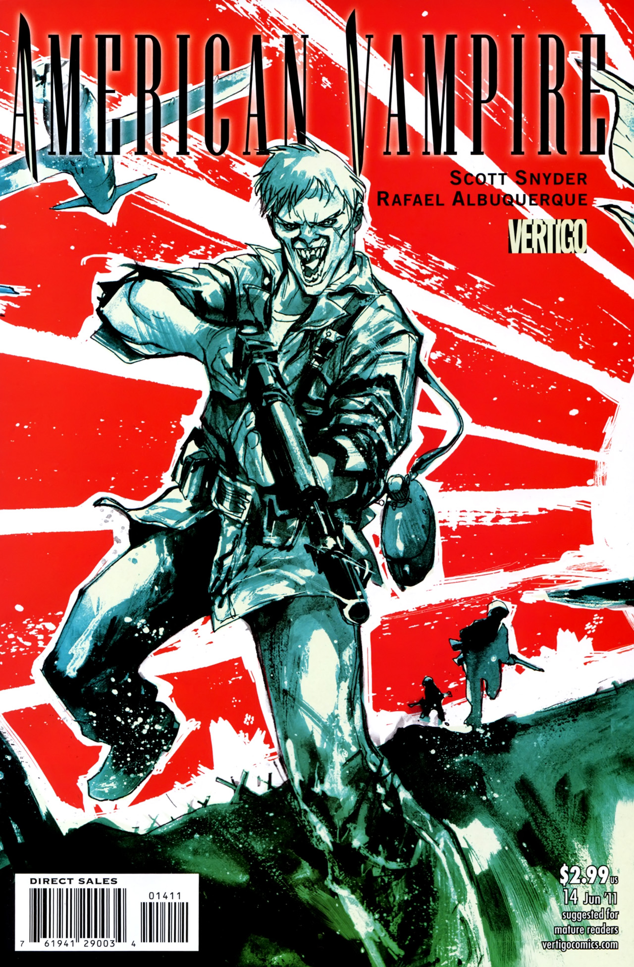 Read online American Vampire comic -  Issue #14 - 1