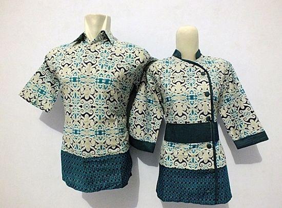 15 Model Atasan Batik Kombinasi Modern Elegan 1000 Model Baju