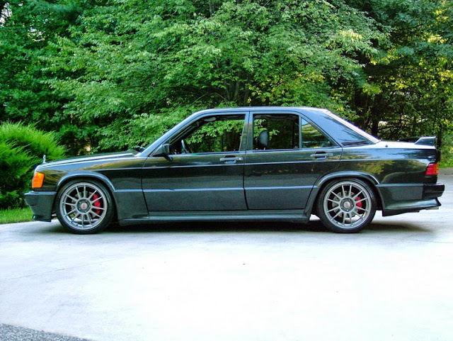 mercedes 190e oz wheels