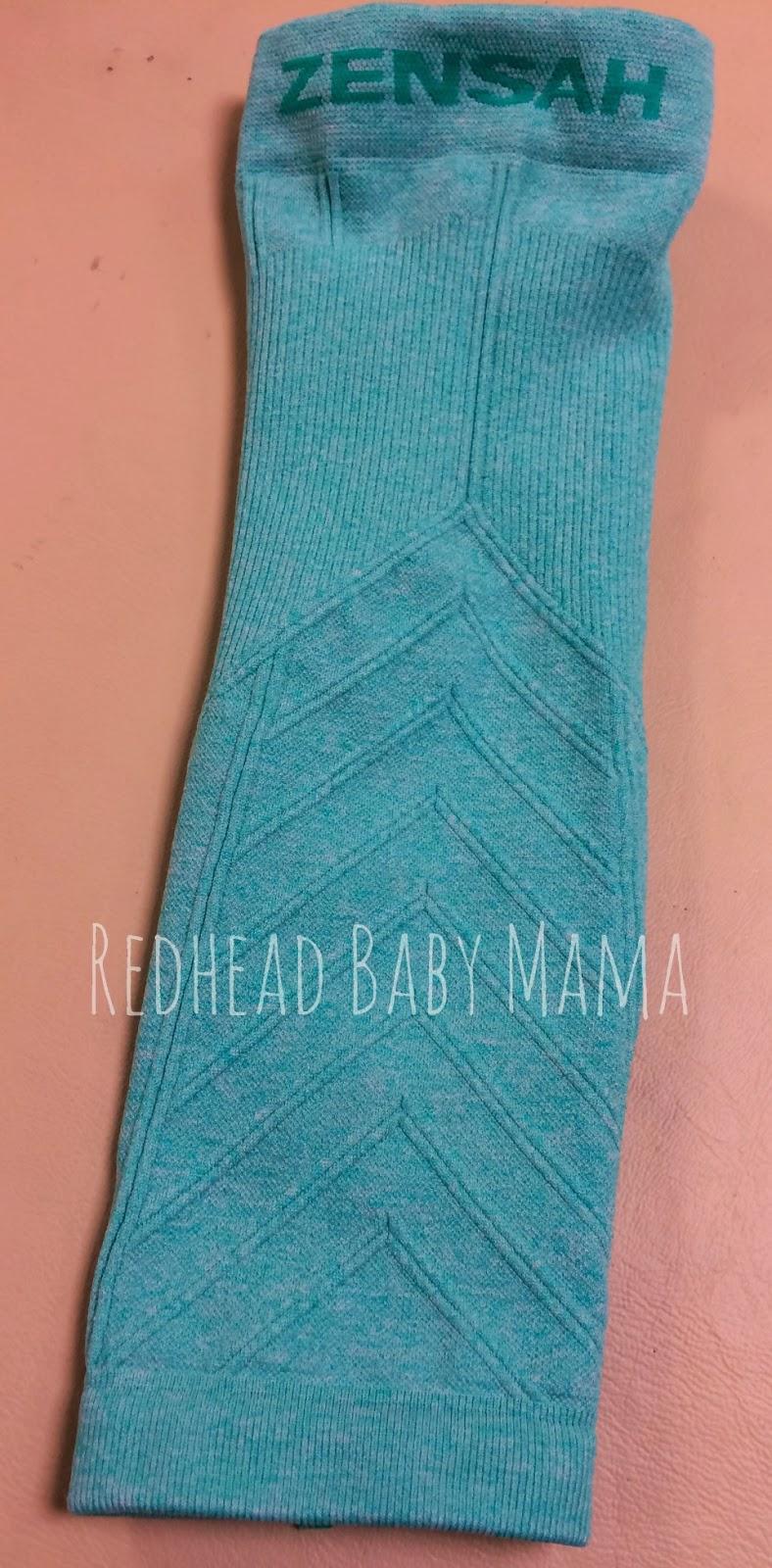 How to Paint Zensah Leg Sleeves - Redhead Baby Mama