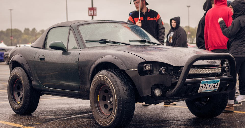 Off-Road Mazda Miata Looks Like A Mad Max Prop