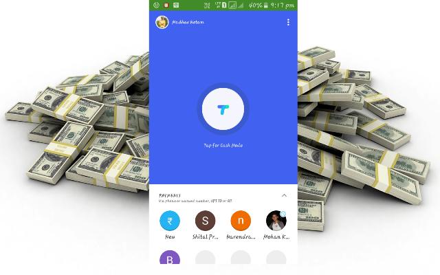 Google Official UPI App TEZ से पैसे कमाए रू 9000 (Google Official UPI App earns money from TEZ Rs 9000)