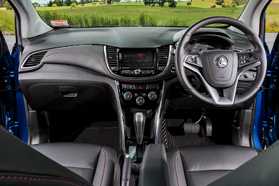 Interior Dashboard Chevrolet Trax Facelift