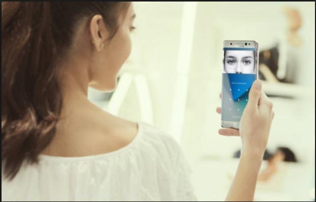 سامسونج تحسن تقنية التعرف على  الوجه، وتقنية التعرف على قزحية العين في جهاز  Galaxy S9